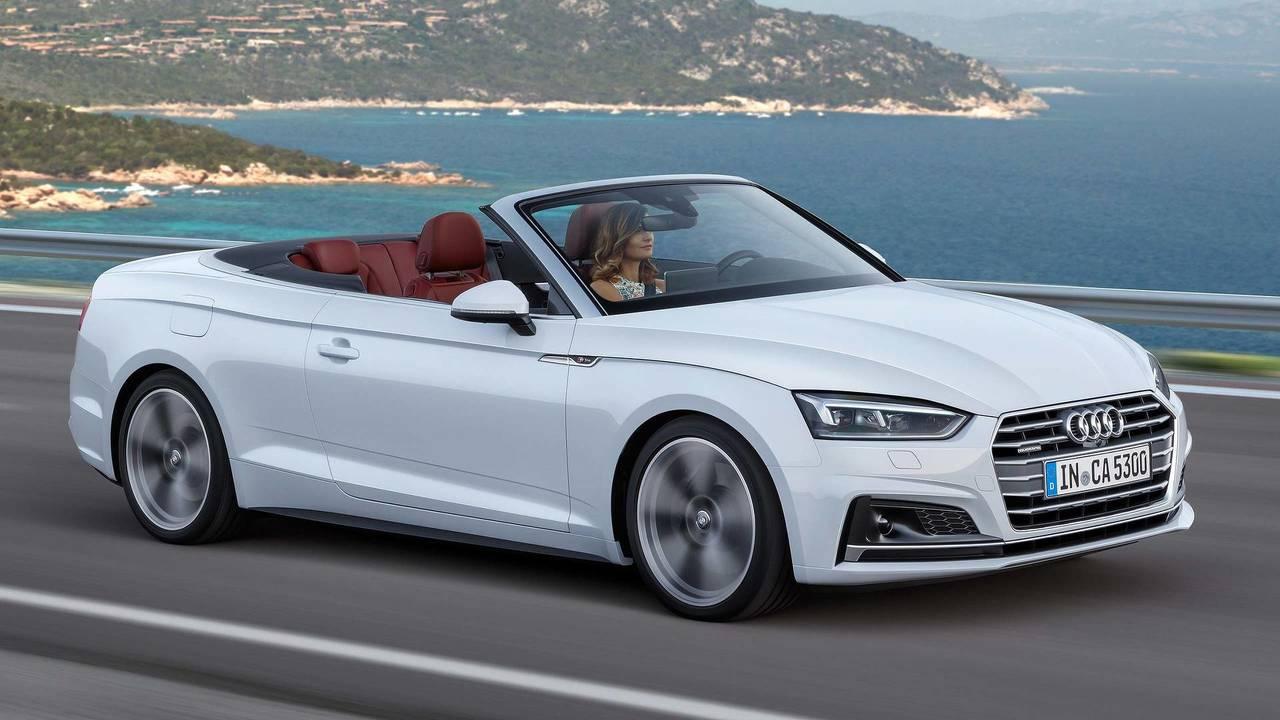 Audi A5 Cabrio - 15,0 segundos