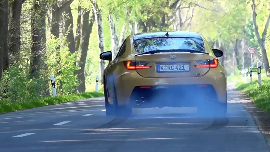 Watch The Lexus RC F Go From 0 To 176 MPH