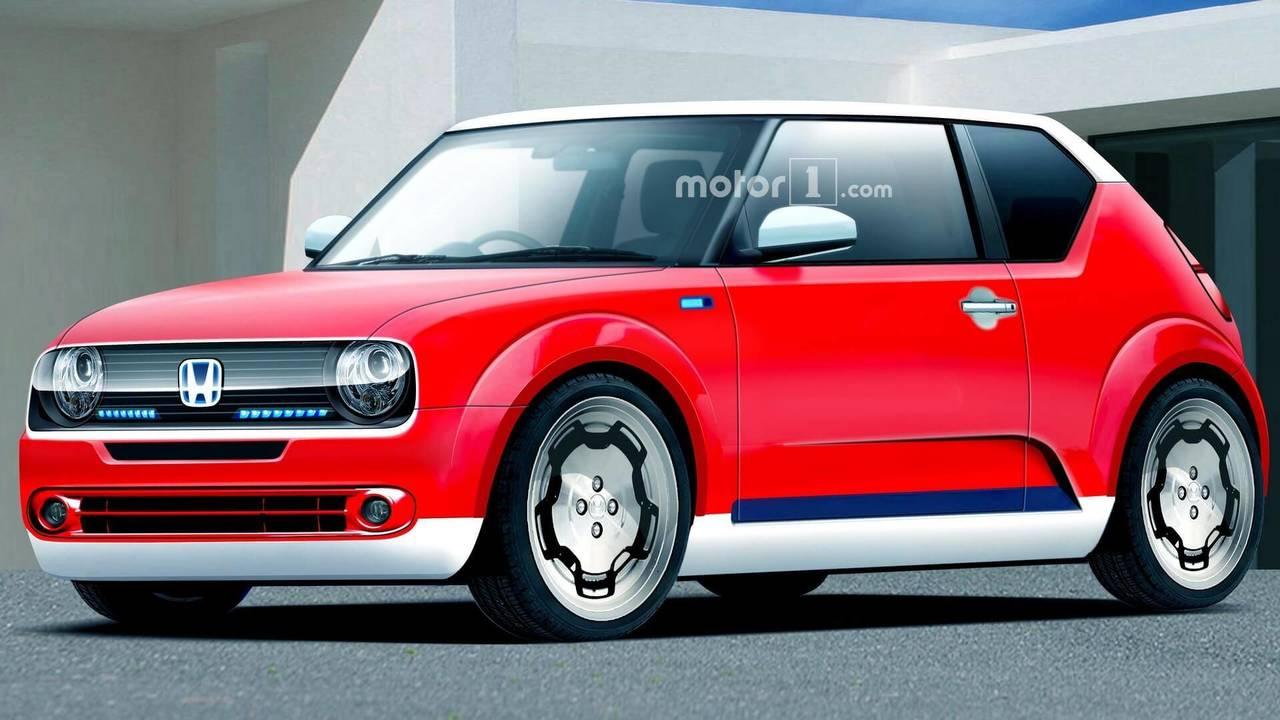 Honda Urban EV Seri Üretim Render'ı