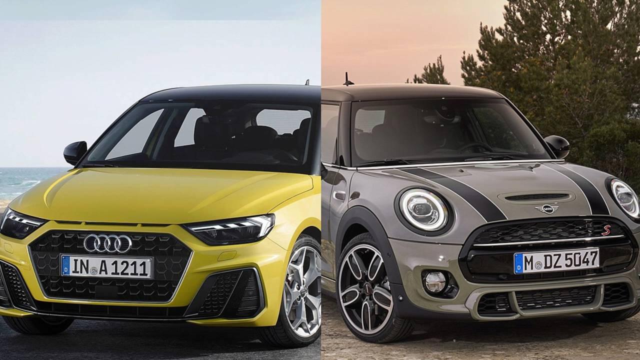 Audi A1 VS Mini 3 porte