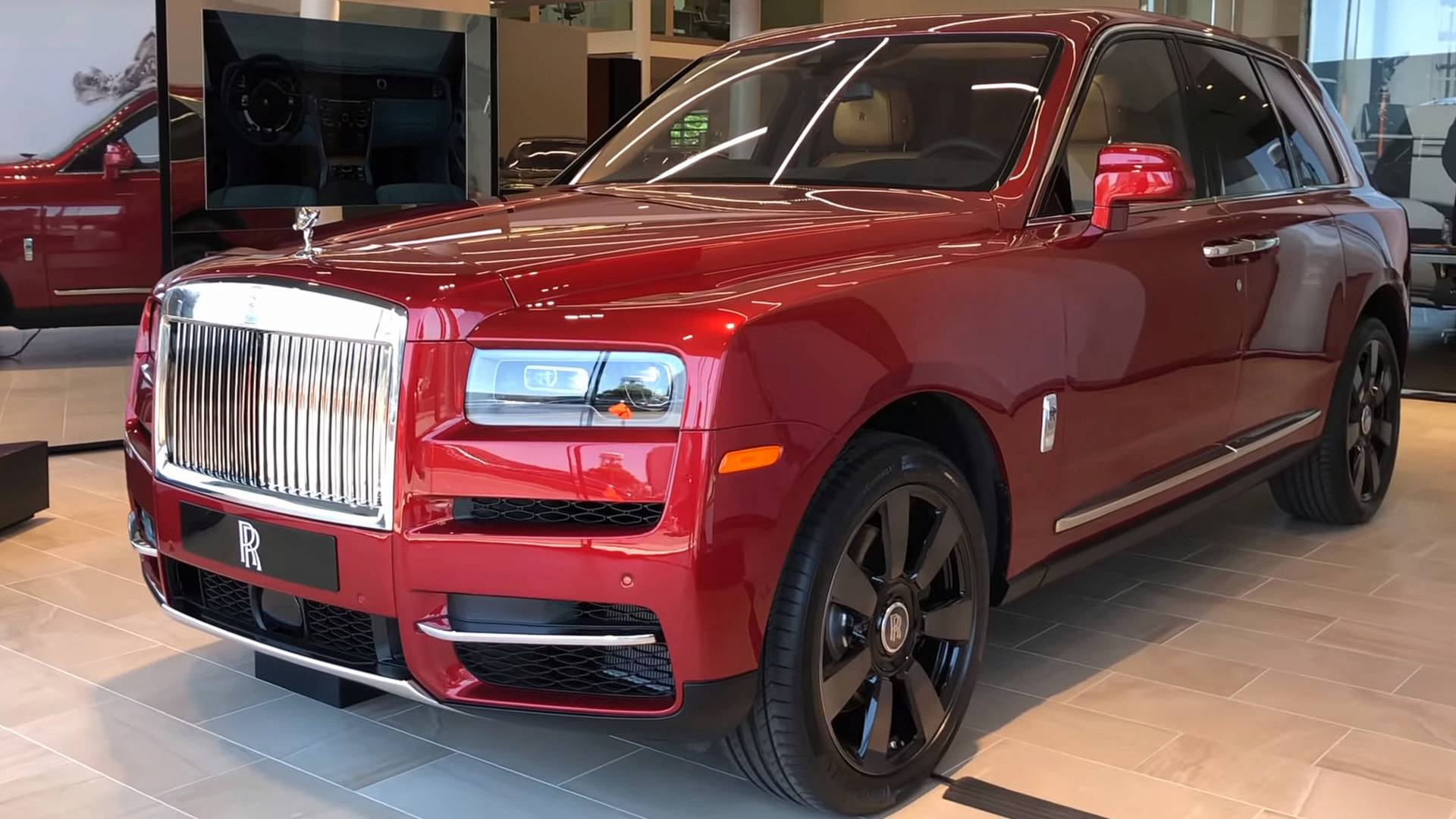 Rolls Royce Cullinan Launch Edition Detailed On Video