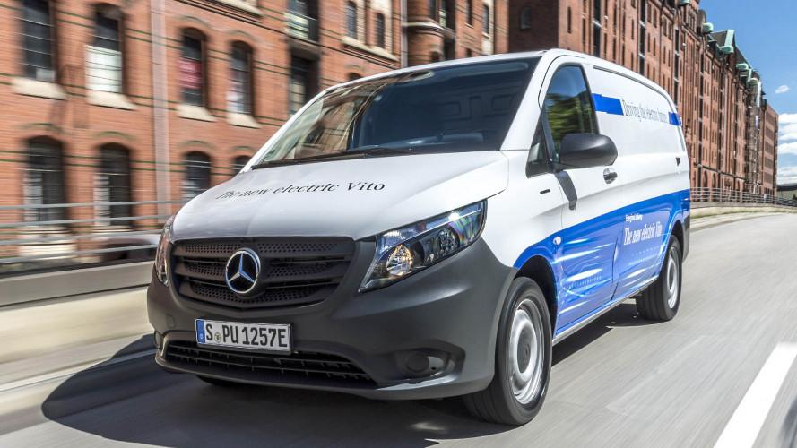 Mercedes eVito und eSprinter im Test