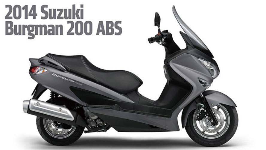 2014 Suzuki Burgman 200 ABS – AIMExpo 2013