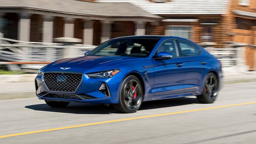 2019 Genesis G70 Named North American Car Of The Year