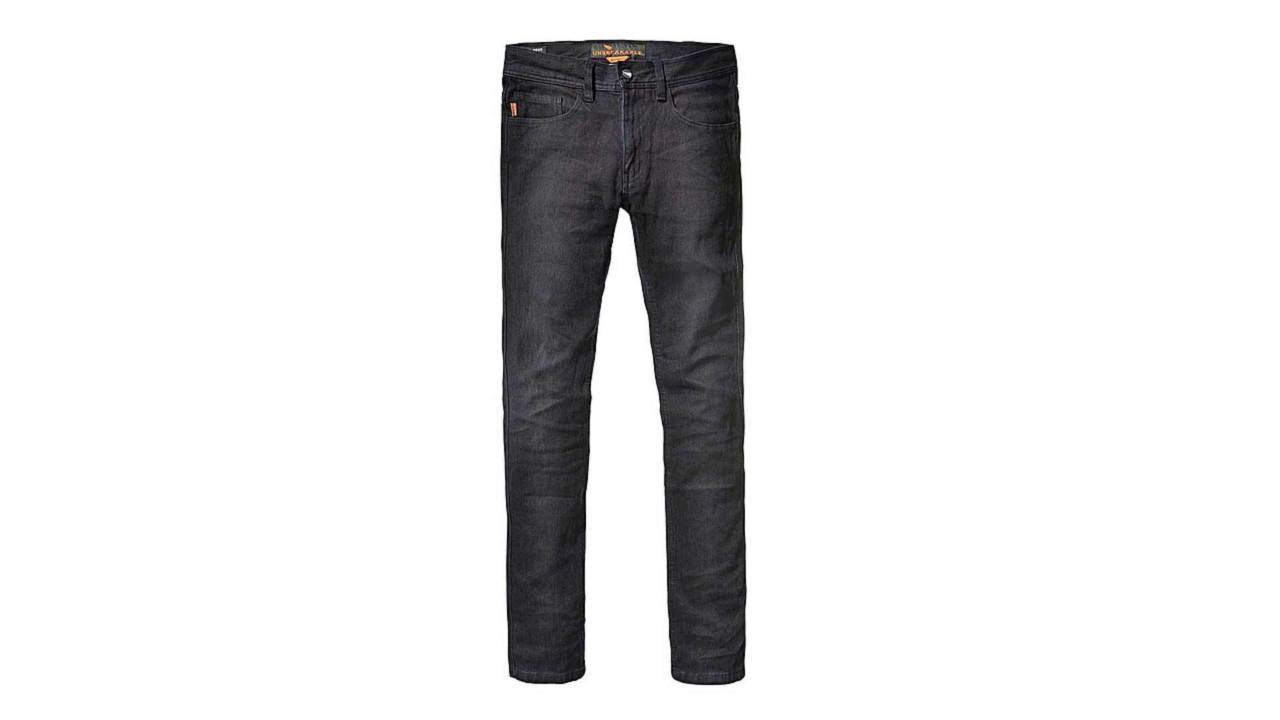 These jeans look fantastic in dark indigo.