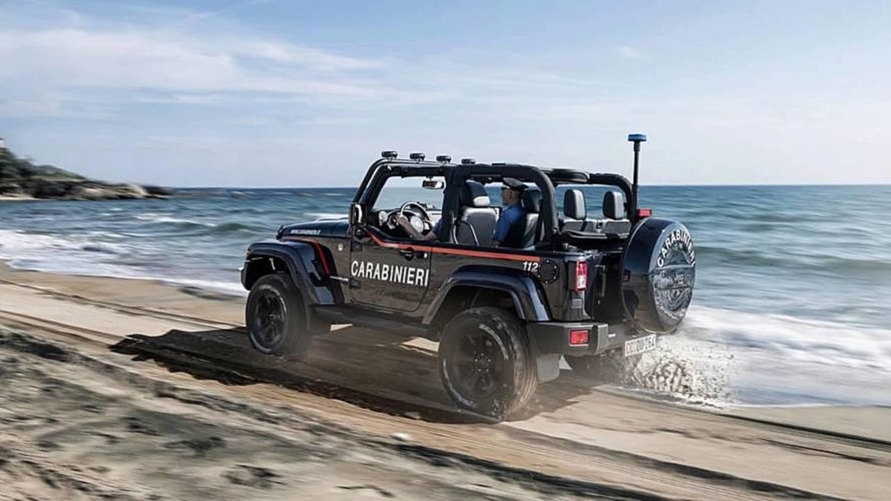 Jeep Wrangler : police italienne
