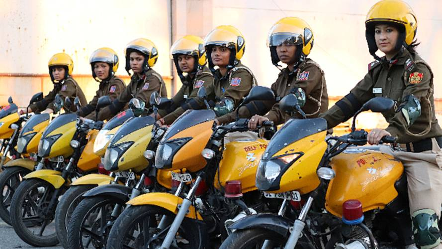 Delhi Police Form All Women Moto-Patrol Squad