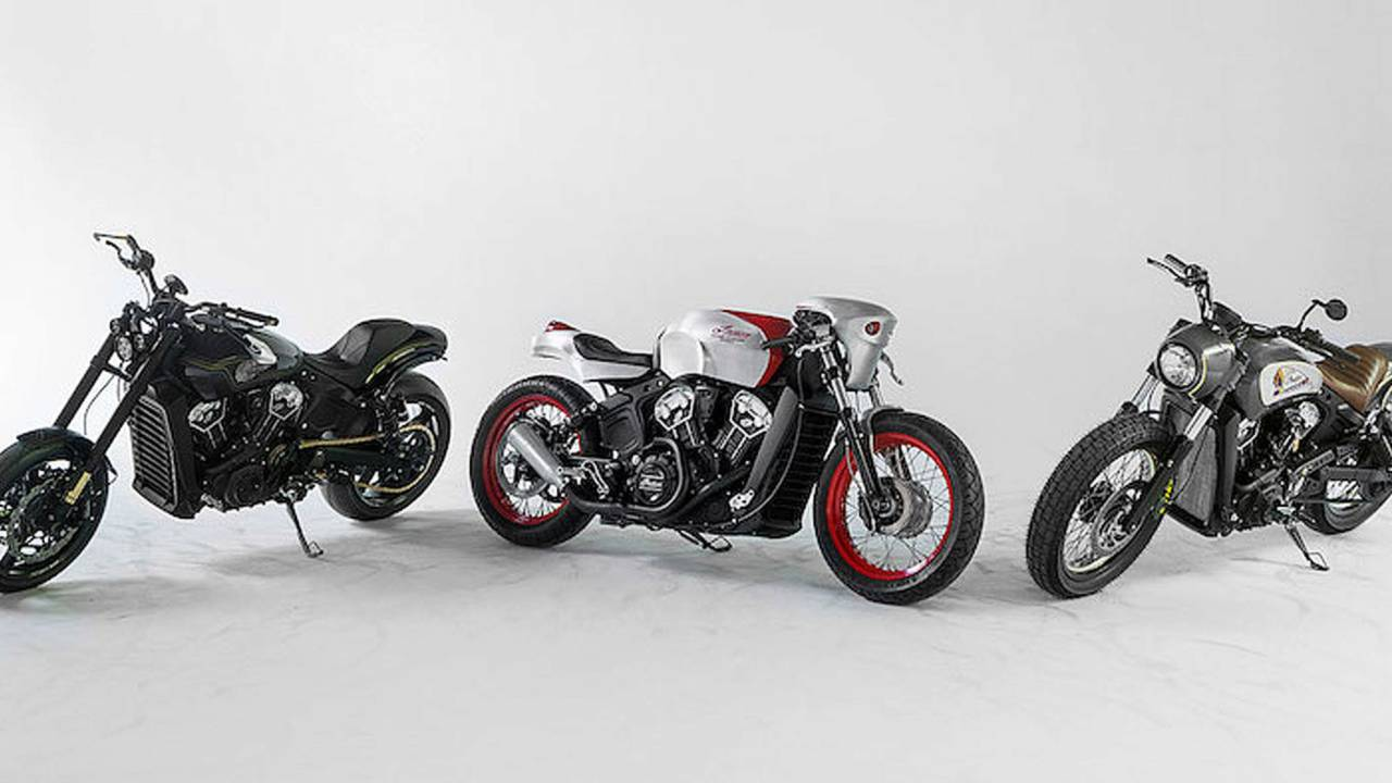 Indian Motorcycle Announces Scout Bobber Build Off