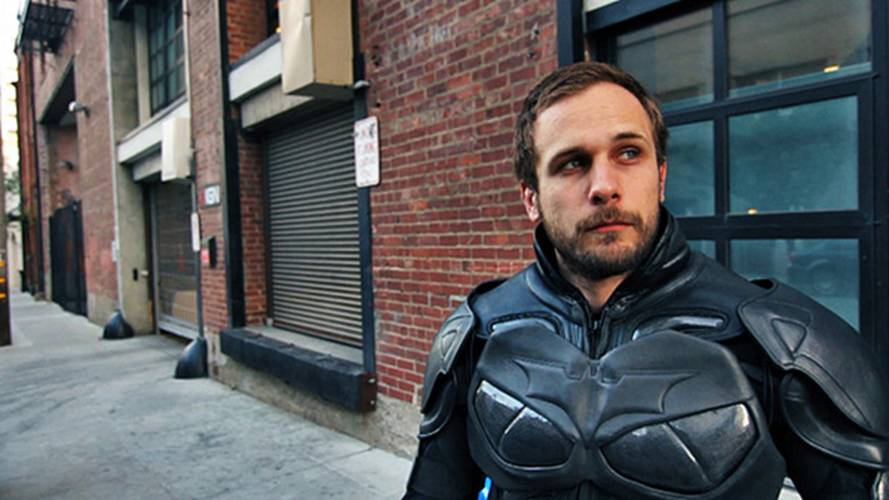 Testing the Dark Knight Rises Motorcycle Suit