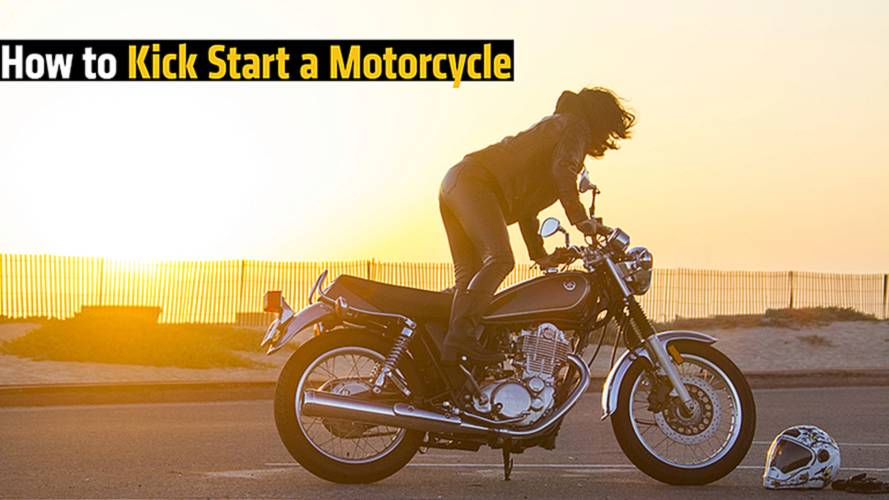 How to Kickstart a Motorcycle