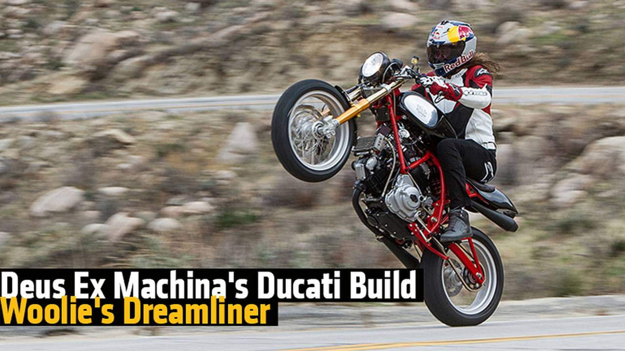 Deus ex Machina's Ducati Build - Woolie's Dreamliner