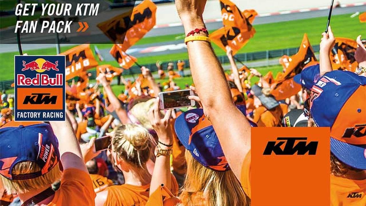 Got Orange? KTM MotoGP Fan Pack for US Grand Prix