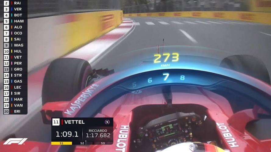 F1 Halo TV graphics