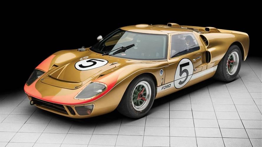 Une Ford GT40 MkII des 24 heures du Mans 1966 aux enchères