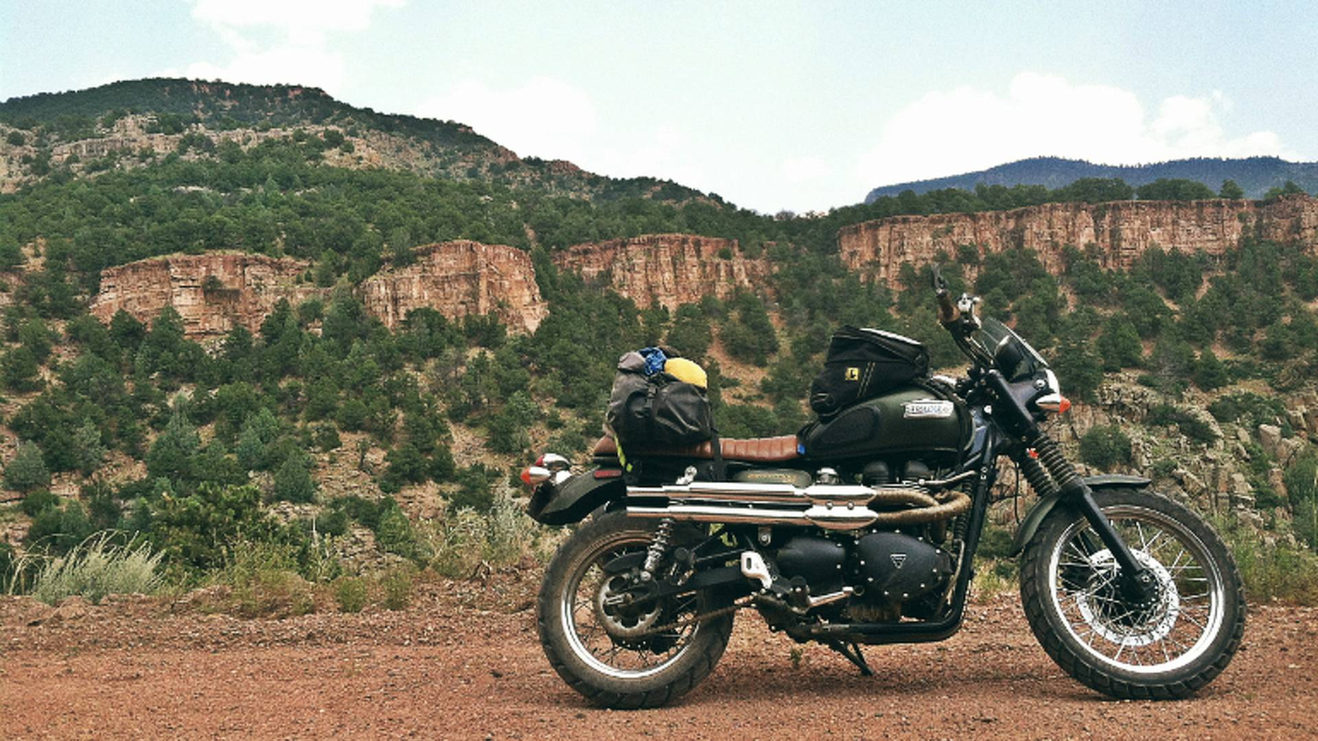 The Off Road Triumph Scrambler Adventure