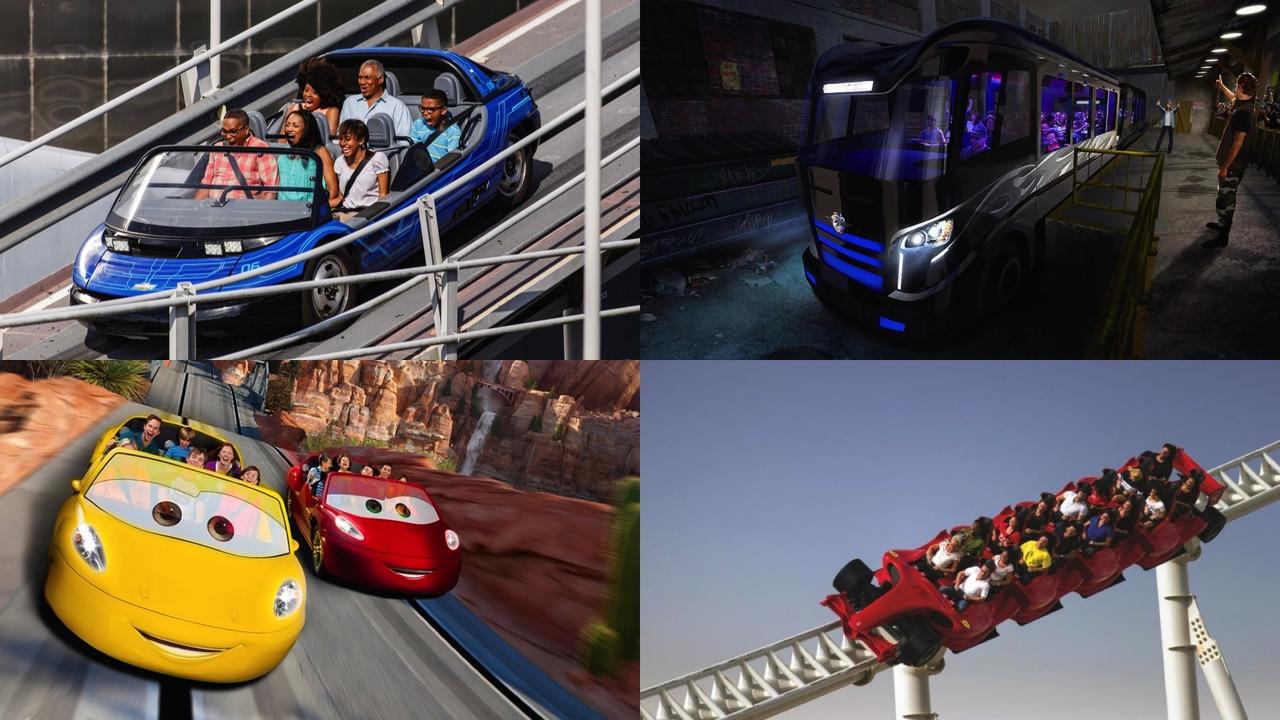 Best Car-Based Theme Park Rides