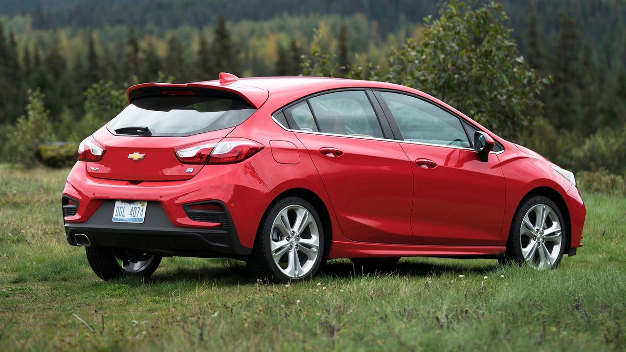 2017 Chevrolet Cruze Hatchback: 642 Litre
