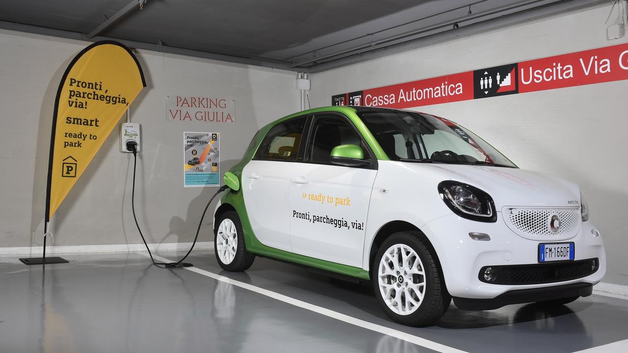 smart, il parcheggio è compreso nella ricarica