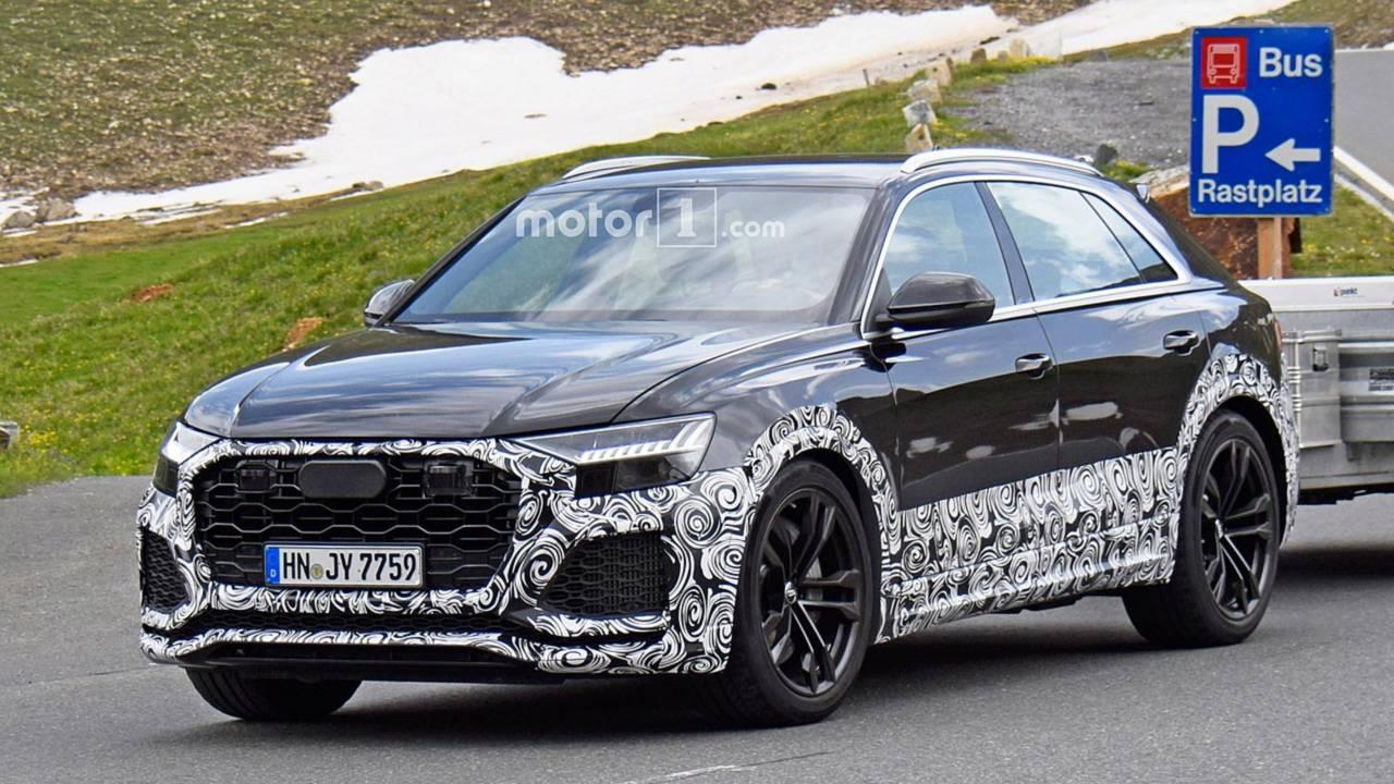 Audi RS Q8 Casus Fotoğraflar
