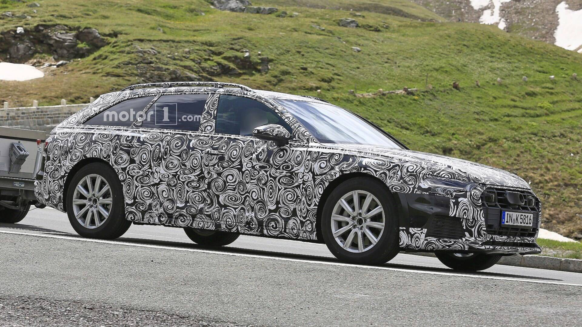 Audi A Allroad Spied For The First Time - Allroad audi