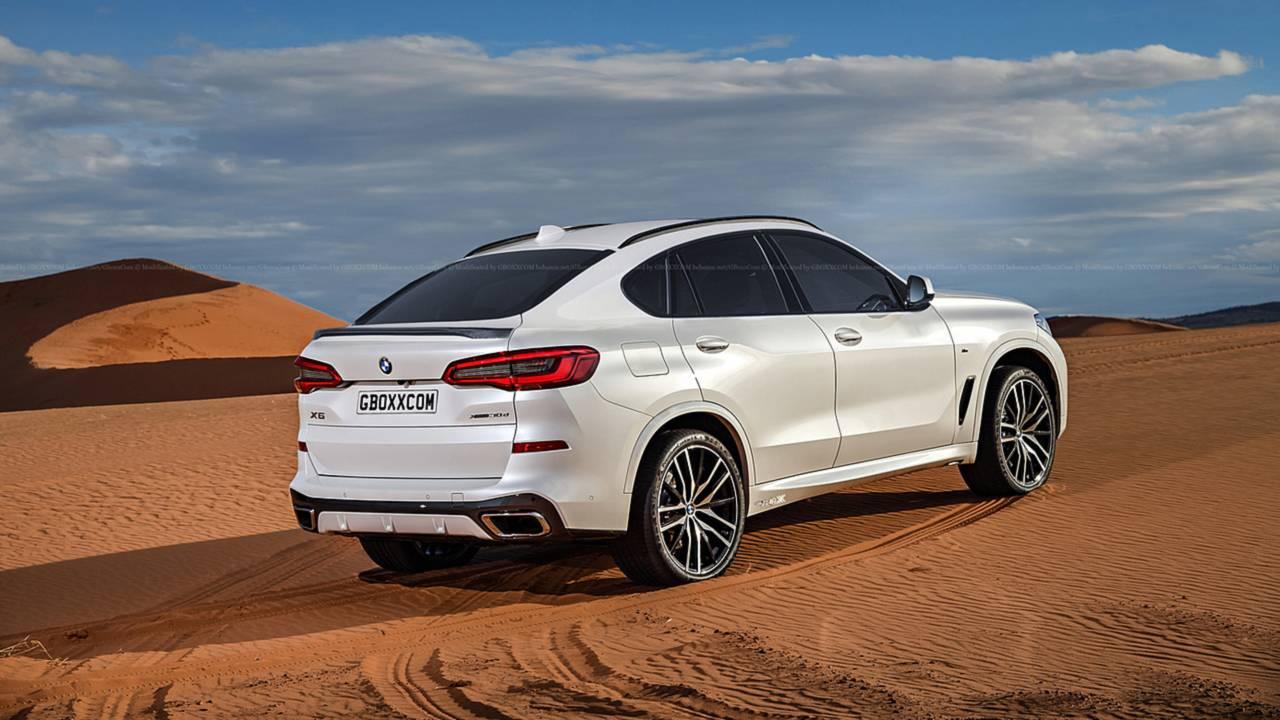 2019 BMW X6 rendering