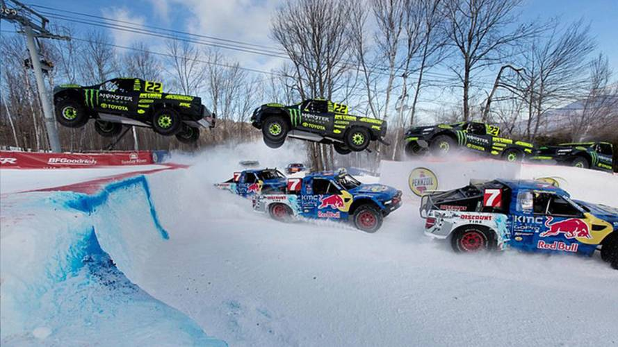 Red Bull Frozen Rush is a Hybrid Thrillfest - Report and Video