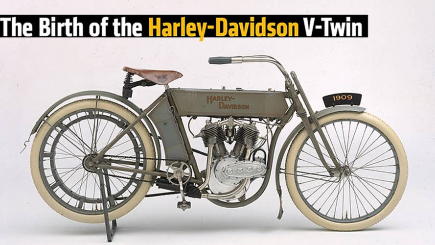 The Birth of the Harley-Davidson V-Twin