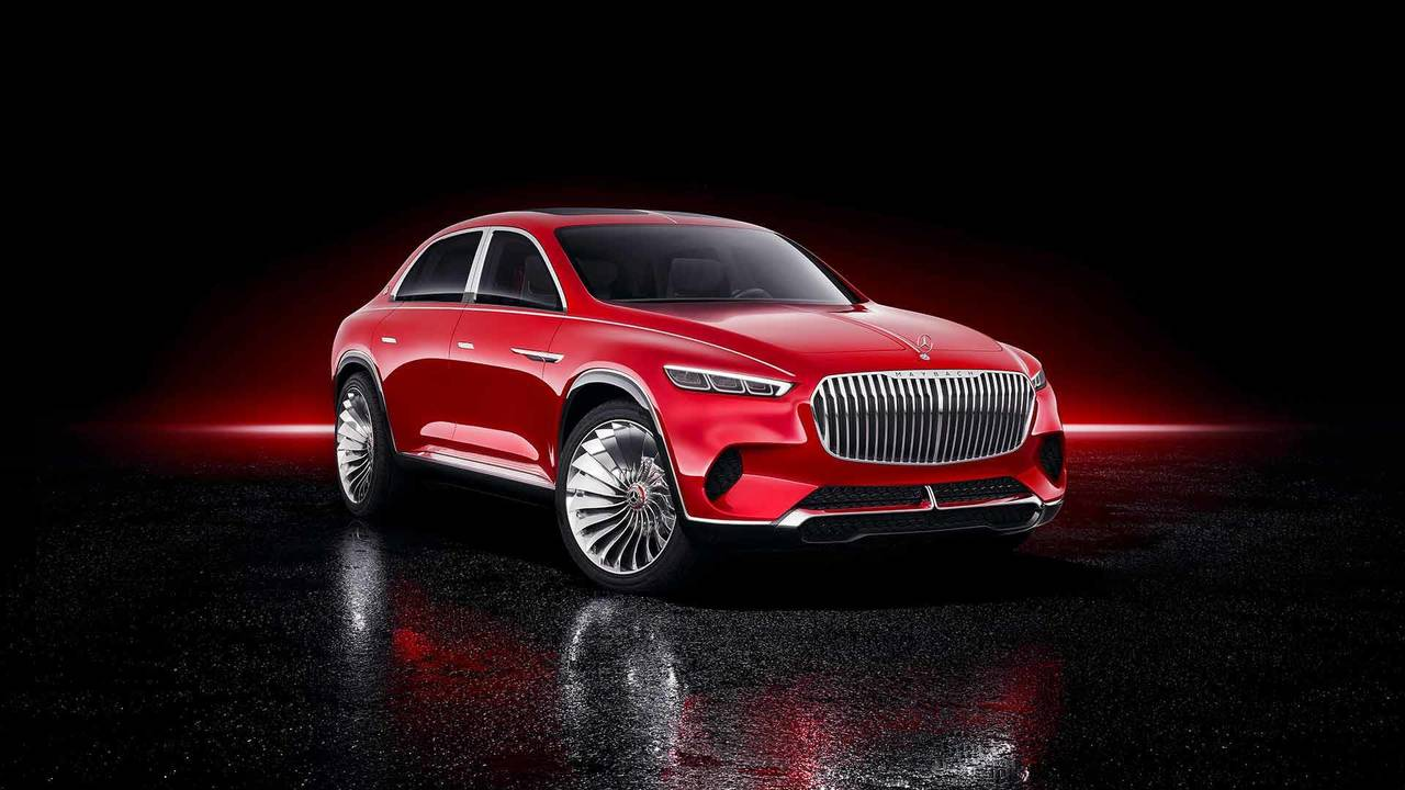 Vision Mercedes-Maybach Ultimate Luxury Konsepti