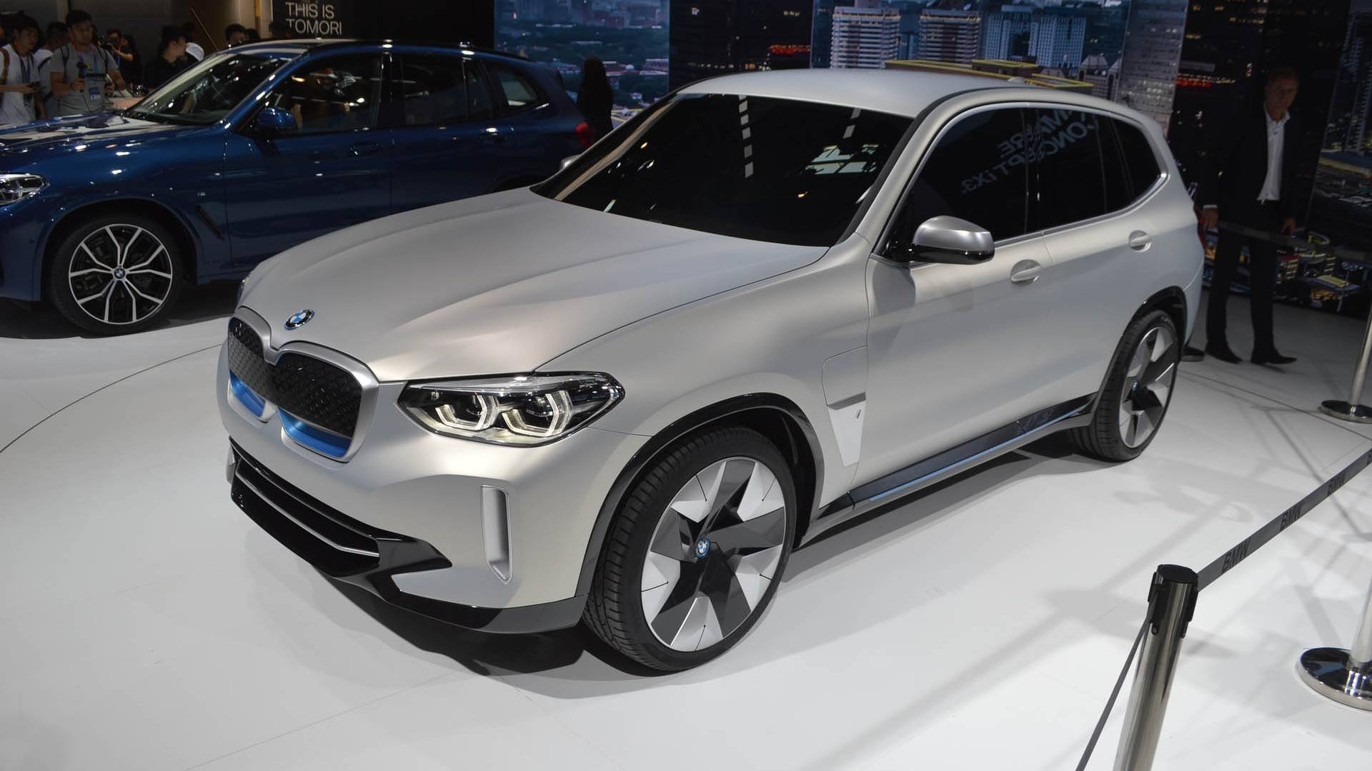 Bmw Confirms Ix3 Will Be Made In China From 2020