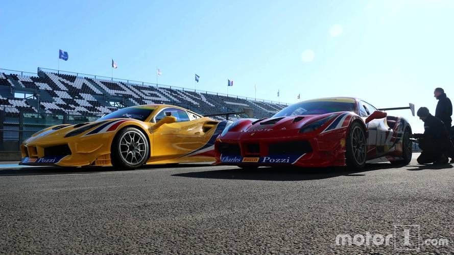 Ferrari 488 Challenge Pozzi-Courage