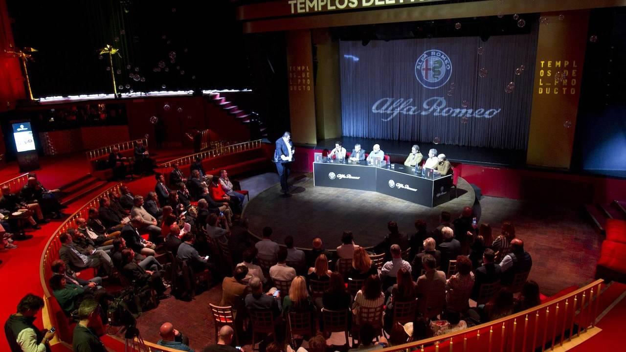 Alfa Romeo y Los Templos del Producto