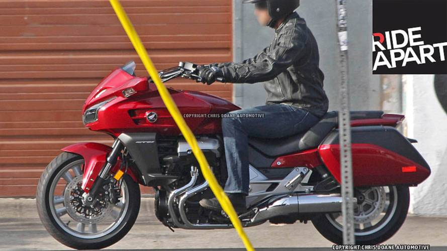 2014 Honda CTX1300 Cruiser Spied Testing — World Exclusive
