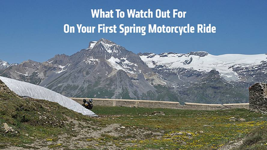 What To Watch Out For On Your First Spring Motorcycle Ride