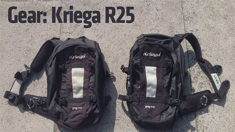 Gear: Kriega R25 Motorcycle Backpack