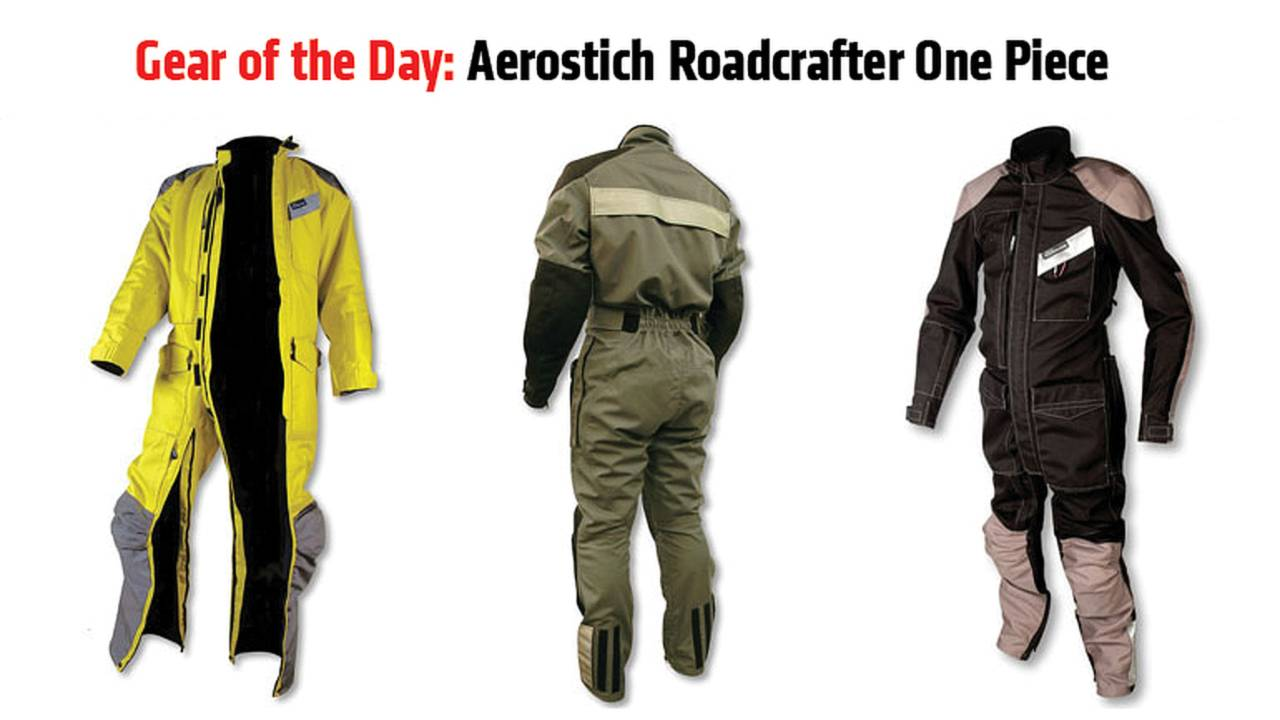 Gear of the Day: Aerostich Roadcrafter One Piece