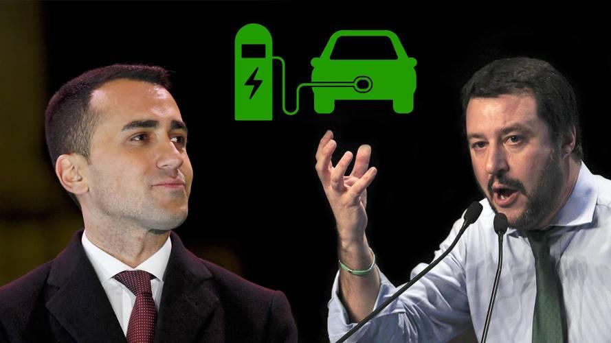 Contratto di Governo, si parla anche di incentivi per l'auto elettrica