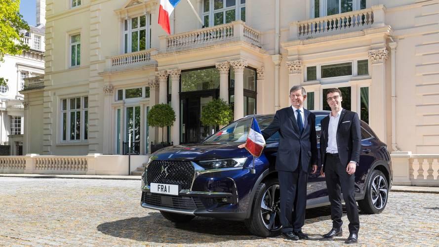 Un DS 7 Crossback pour l'ambassade de France au Royaume-Uni