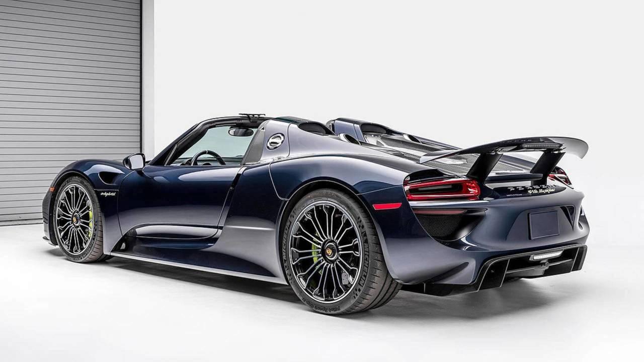 Porsche 918 Spyder - 1.430.000 euros