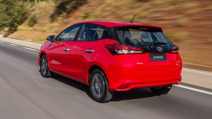 Toyota Yaris brasileiro chega à Argentina com garantia de 5 anos