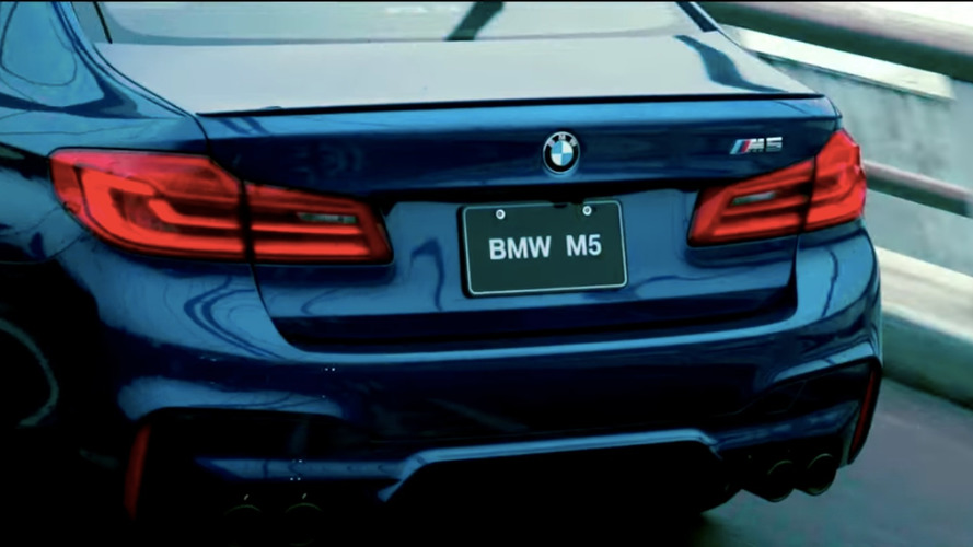BMW M5 Has Taipei All To Itself In New Ad