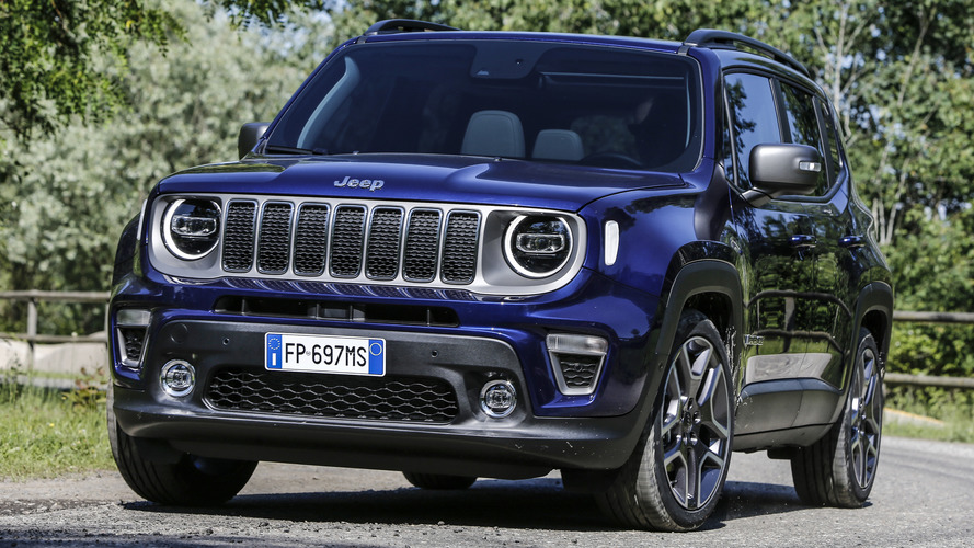 Jeep confirms plug-in hybrid Renegade for 2020 launch