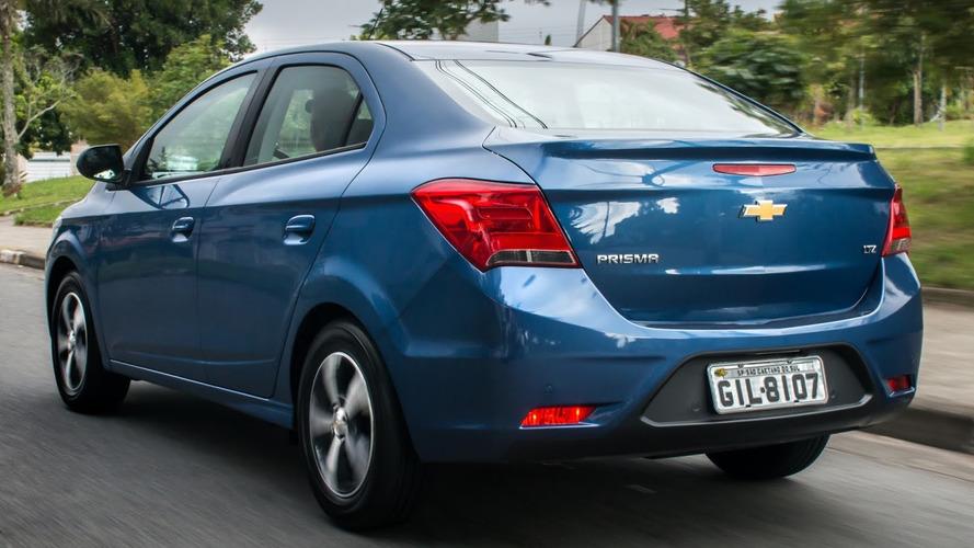 Vendas julho (oficial): chegada breve do Onix Sedan não abala o Prisma
