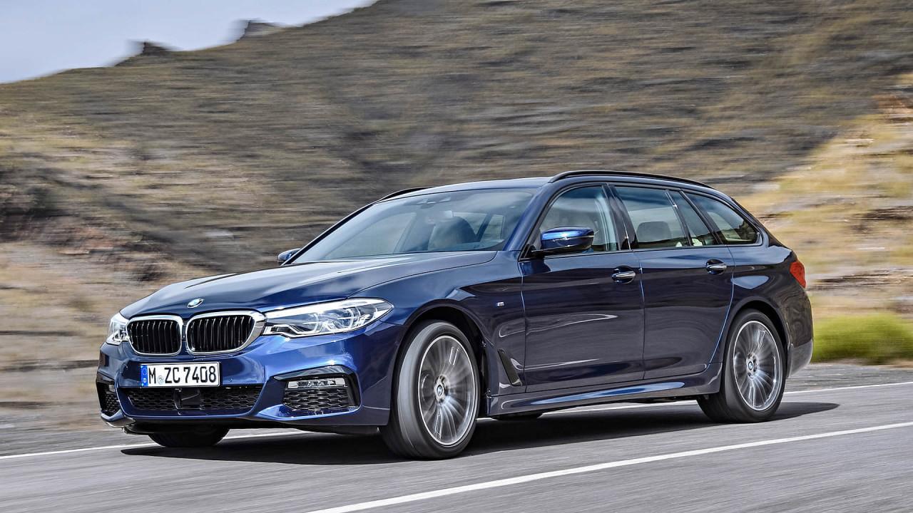 Geteilter Platz 7: BMW 5er Touring (1.700 Liter)