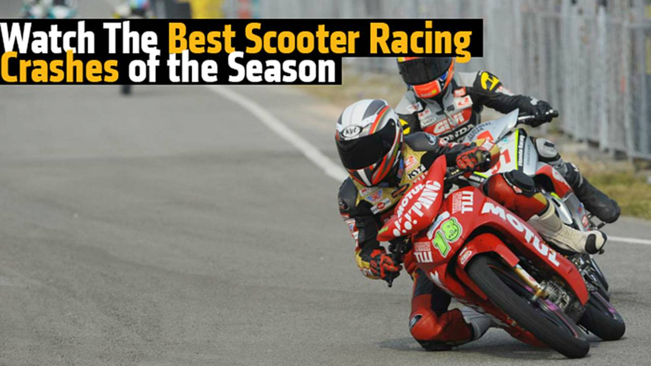 Watch The Best Scooter Racing Crashes of the Season