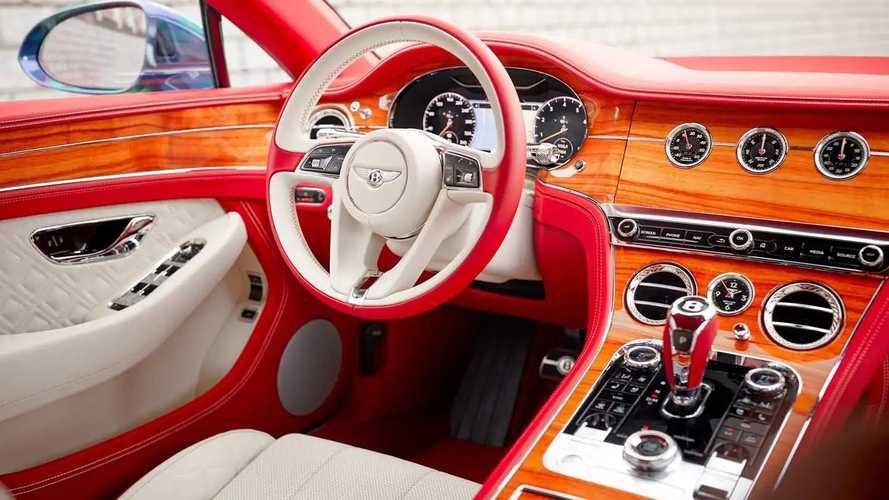 Bentley Contest 59 CS Interior