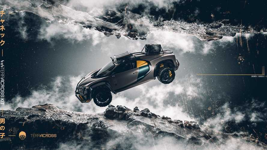 Bugatti Chiron Terracross, renders