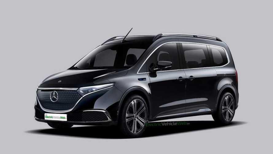 Mercedes-Benz EQT'nin seri üretim hali böyle görünebilir
