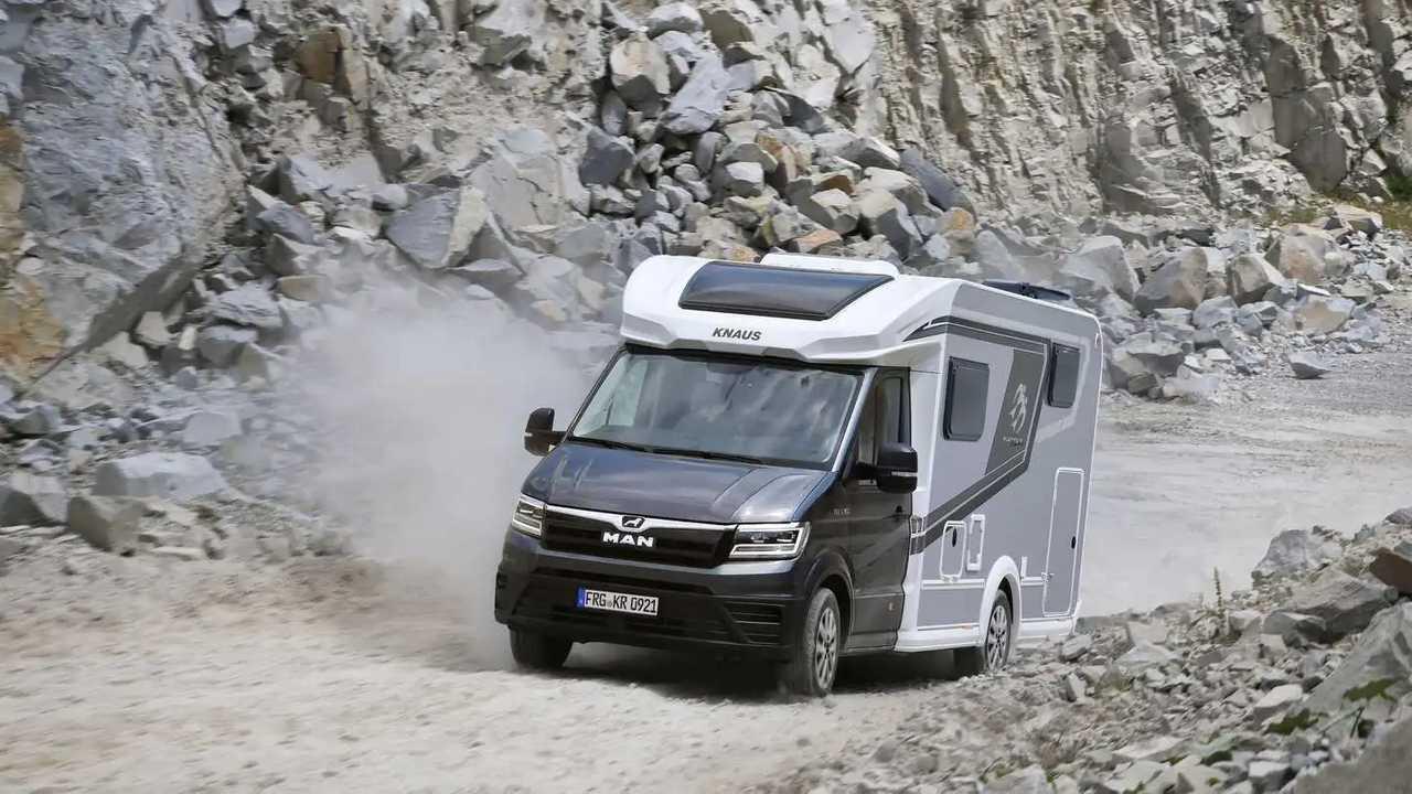 MAN TGE Knaus Van TI Plus 2021 autoacaravana premium