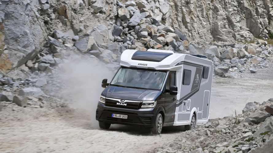 MAN TGE Knaus VAN TI PLUS 2021, una autocaravana premium