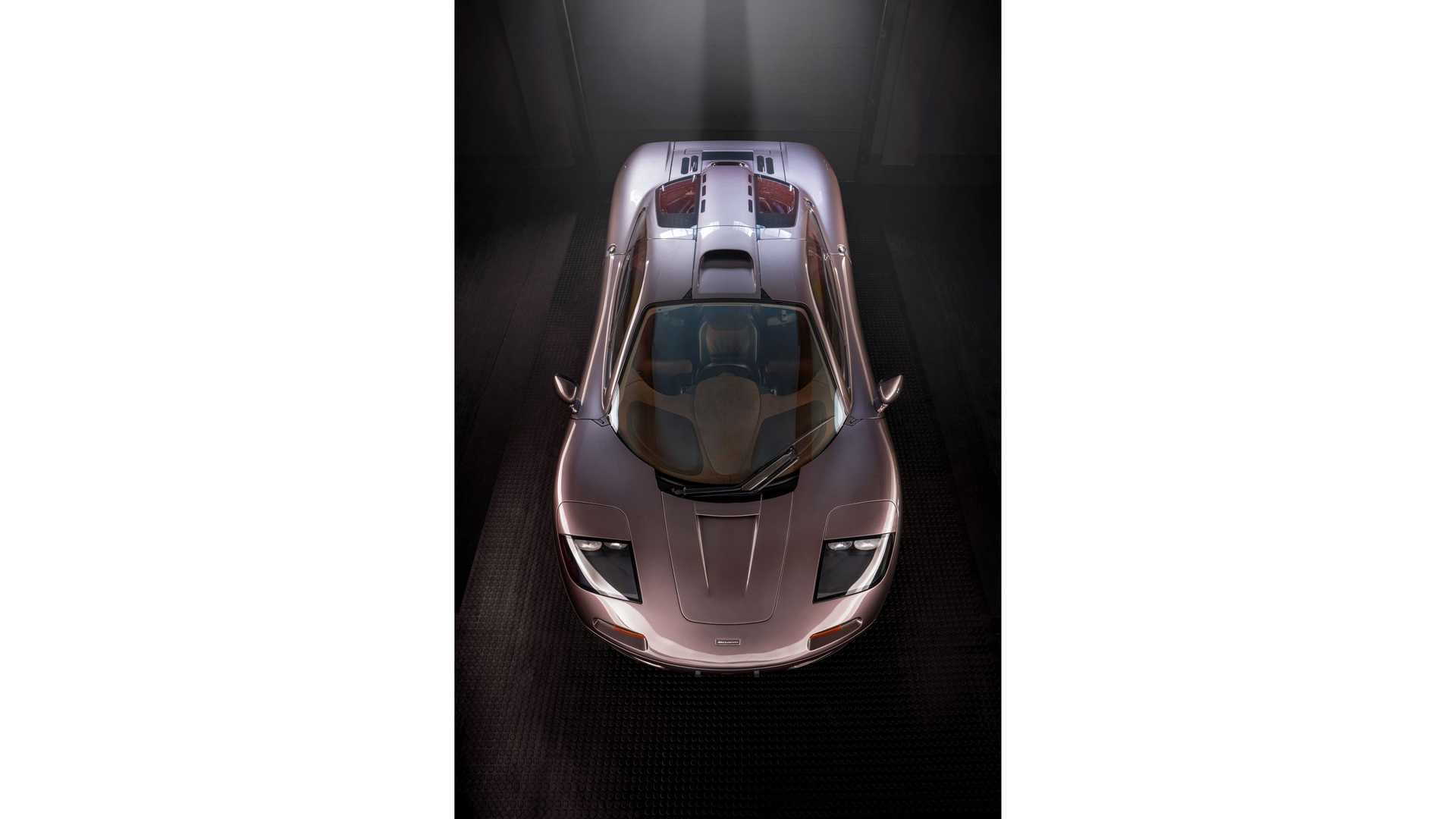 1995 McLaren F1 Gooding And Company Auction 2020 Above